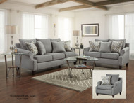 BAY RIDGE GRAY 2PC SET