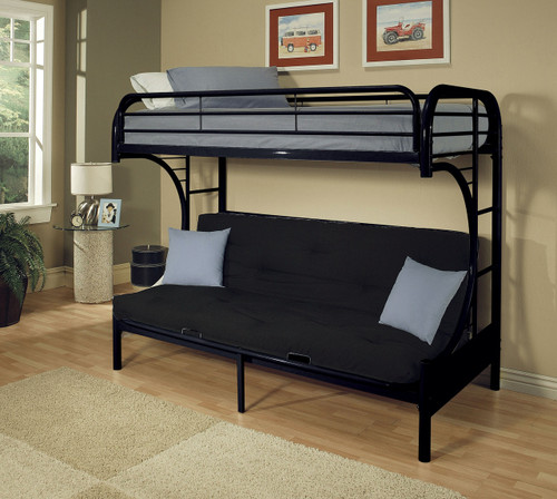 Medium image of black futon bunk bed