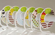 Safari Animals baby closet dividers