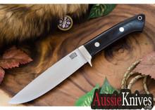 Bark River Knives Wilderness Explorer Cru-Wear  Black Canvas Micarta