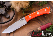 Bark River Knives Fox  River - Blaze Orange G-10
