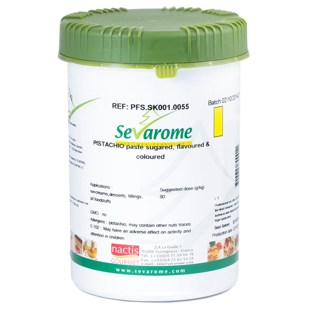 pistachio paste 1kg sevarome   infusions