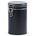 Black Swing Top Tin