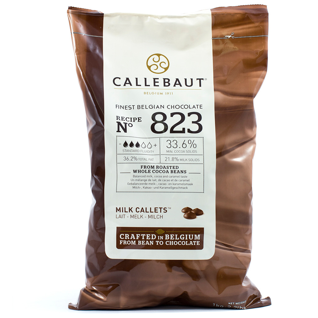 Chocolate Callets Callebaut 1kg 823NV Milk - Infusions