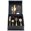 Viners 16 Piece Gold Titanium Cutlery Giftbox