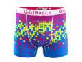 Oddballs Digital Rain Cyan