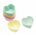 Silicone Mini Heart Shaped Cases x12