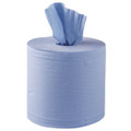 Blue centrefeed roll 2 ply x 105m