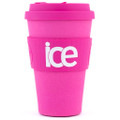 Ecoffee Cup - Pink'd 14oz
