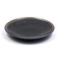 Black Speckled Plate