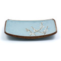 Plum Design Blue Plate