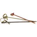 Skewers - Looped Bamboo Black 90mm x 100