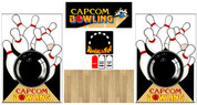 Capcom bowling graphic restore kit ALL wood CPO
