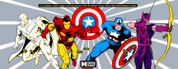 Captain America and the Avengers Trim to fit Control Panel Overlay