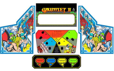 Gauntlet 2 graphic restoration kit 5 pieces
