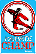 Karate Champ Video Arcade Side Art