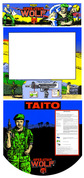 Operation Wolf 3 piece graphic restore kit
