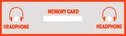Neo Geo Memory card reader graphic sticker