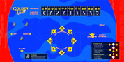 Golden Tee Fore control panel overlay