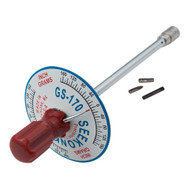 1/4'' Dr 0 - 170 Inch Gram Seekonk Vertical Torque Gauge Screwdriver - GS-170