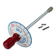 1/4'' Dr 0 - 3 Inch Ounce Seekonk Vertical Torque Gauge Screwdriver - S0-3
