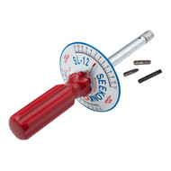 1/4'' Dr 0 - 12 In Lbs Seekonk Vertical Torque Gauge Screwdriver - SL-12