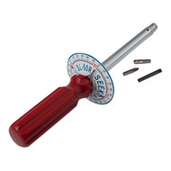 1/4'' Dr 0 - 50 In Lbs Seekonk Vertical Torque Gauge Screwdriver Left - SL-50 Left