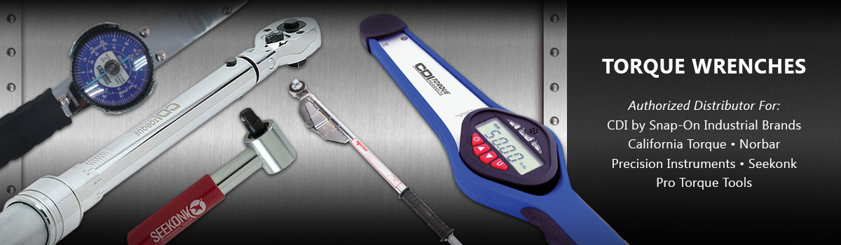 Torque Wrenches from CDI Snap-On, Norbar, Seekonk, Precision Instruments & California