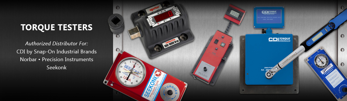 Torque Testers From CDI Snap-On, Seekonk & Norbar