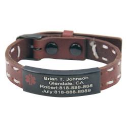 Engraved Medical ID Bracelet