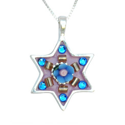 Star of David Necklace by Ester Shahaf