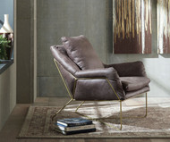 Crosshaven Dark Gray Accent Chair