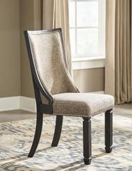 Tyler Creek Black/Gray Dining UPH Side Chair (2/CN)