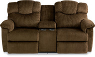 Lancer La-Z-Time Full Reclining Loveseat with Middle Console