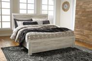 Bellaby Whitewash King Panel Bed