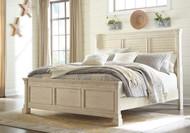 Bolanburg White King Louvered Bed