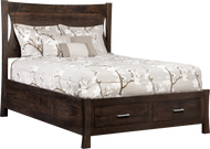 Transitions Panel Queen Bed