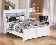 Bostwick Shoals White Queen Panel Bed