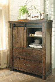 Lakeleigh Brown Five Drawer Chest