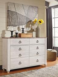 Willowton Two-tone Dresser