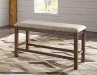 Moriville Beige Double UPH Bench (1/CN)