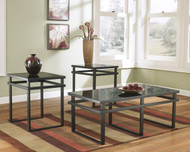 Laney Occasional Tables (Set of ): Black