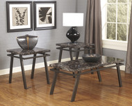 Paintsville Occasional Tables (Set of 3): Bronze Finish