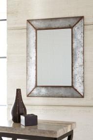 O'Tallay Antique Gray Accent Mirror