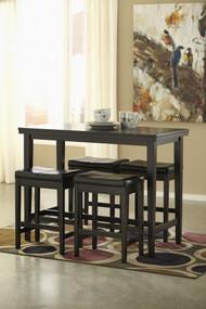 Mirimyn Teal Small Desk & Swivel Desk Chair