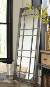 Remy Antique Gray Accent Mirror