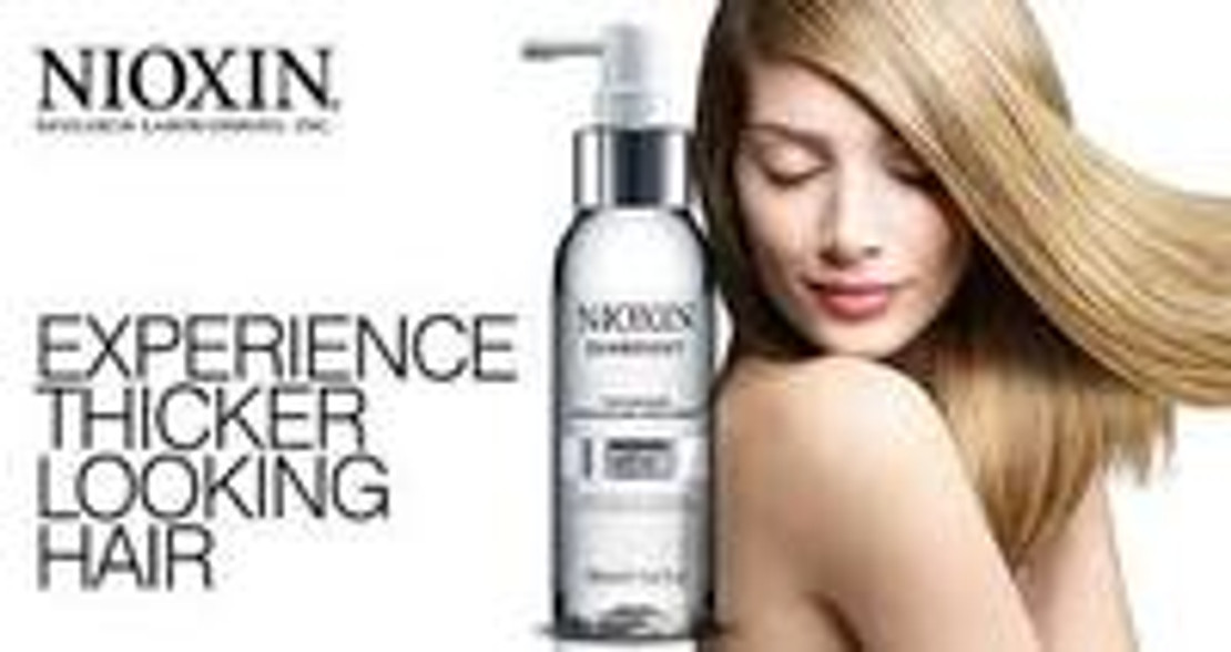 Is Your Hair Making You Look Older? Nioxin Have The Solution!