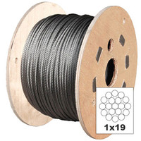 Galvanised 1x19 Wire Rope