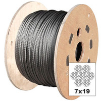 Stainless Steel 7x19 Wire Rope