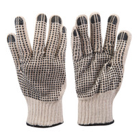 Silverline Double-Sided Dot Gloves